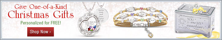 Give One-of-a-Kind Christmas Gifts - Personalized for FREE - Shop Now