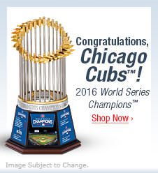 Congratulations, Chicago Cubs(TM)! 2016 World Series Champions(TM) - Shop Now