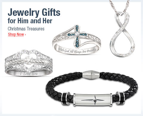 Jewelry Gifts for Him and Her - Christmas Treasures - Shop Now