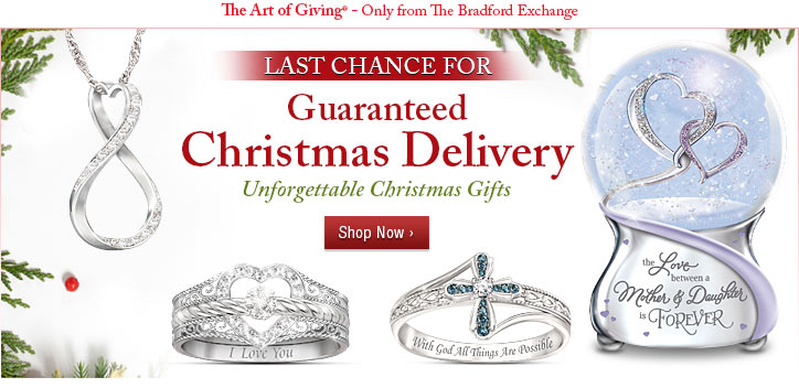 LAST CHANCE FOR Guaranteed Christmsa Delivery - Unforgettable Christmas Gifts - Shop Now
