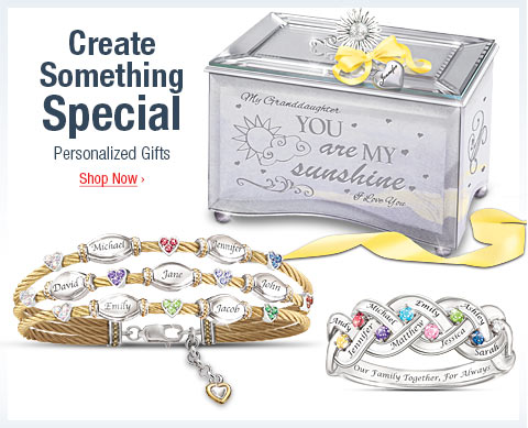 Create Something Special - Personalized Gifts- Shop Now
