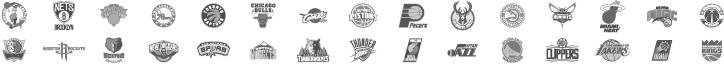 NBA Registered Logos