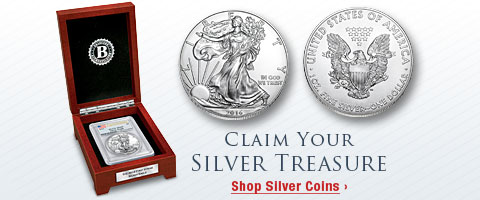 Claim Your Silver Treasure - Shop Silver Coins