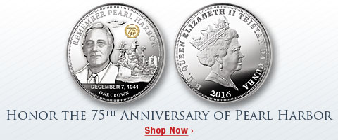 Honor the 75th Anniversary of Pearl Harbor - Shop Now