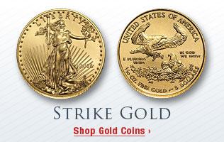 Strike Gold - Shop Gold Coins