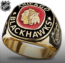 Chicago Blackhawks® Men's Ring