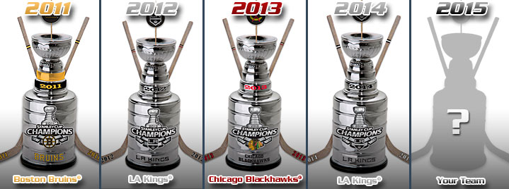 winners of the stanley cup