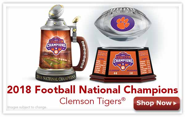 2018 Football National Champions Clemson Tigers(R) - Shop Now