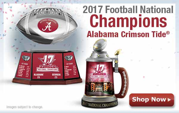 2017 Football National Champions - Alabama Crimson Tide(R) - Shop Now