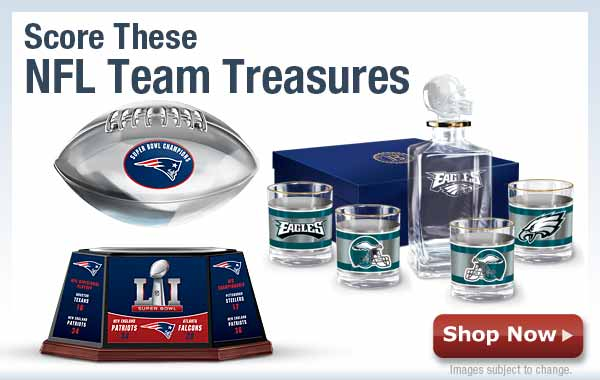 Score These NFL Team Treasures - Shop Now