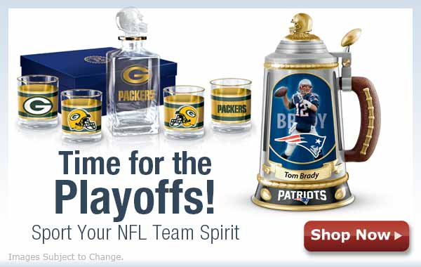 Time for the Playoffs! Sport Your NFL Team Spirit - Shop Now