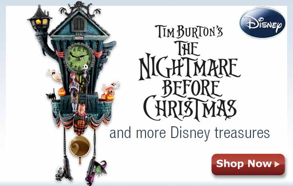 Tim Burton's The Nightmare Before Christmas and more Disney treasures Shop Now