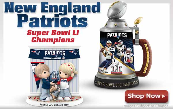 New England Patriots - Super Bowl LI Champions - Shop Now
