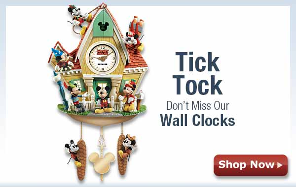 Tick Tock - Don't Miss Our Wall Clocks - Shop Now