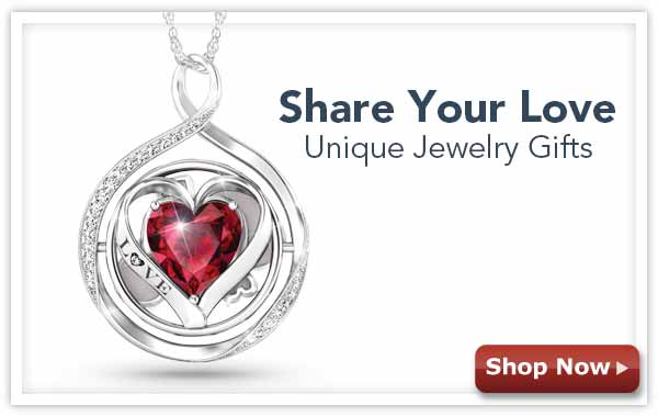 Share Your Love - nique Jewelry Gifts - Shop Now