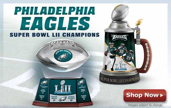 Philadelphia Eagles - Super Bowl LII - Shop Now