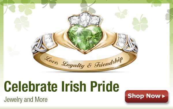 Celebrate Irish Pride - Jewelry and More - Shop Now