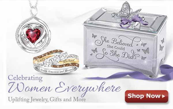 Celebrating Women Everywhere - Uplifting Jewelry, Gifts and More - Shop Now