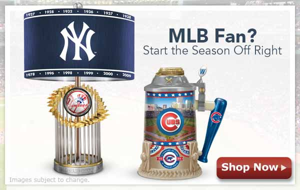MLB Fan? Start the Season Off Right - Shop Now