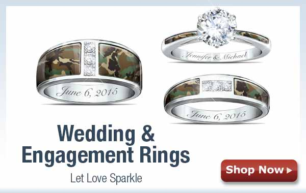 Wedding & Engagement Rings - Let Love Sparkle - Shop Now