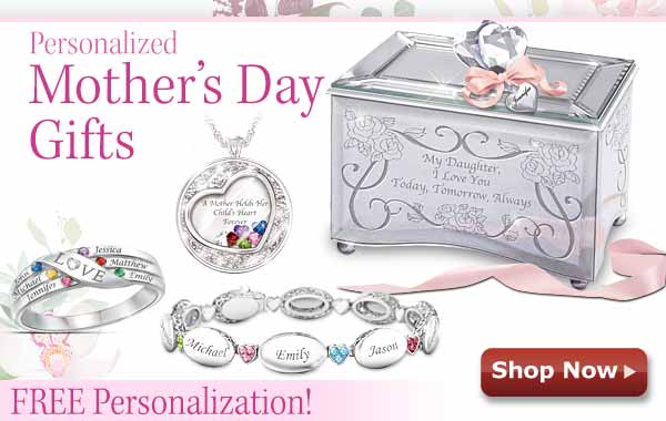Personalized Mother's Day Gifts - Free Personalization - Shop Now