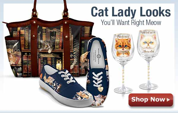 Cat Lady Looks You'll Want Right Meow - Shop Now