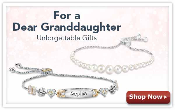 For a Dear Granddaughter - Unforgettable Gifts - Gift Box Included - Shop Now