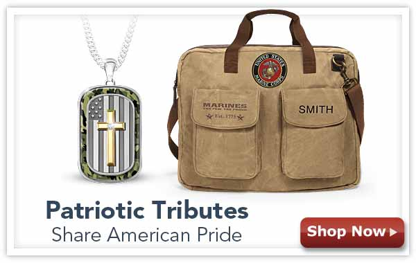 Patriotic Tributes - Share American Pride - Shop Now
