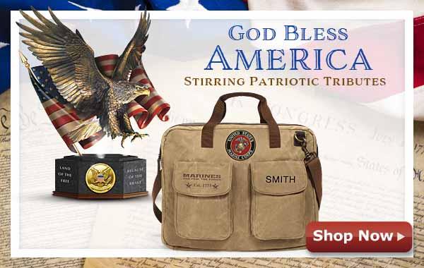 God Bless America - Stirring Patriotic Tributes Shop Now