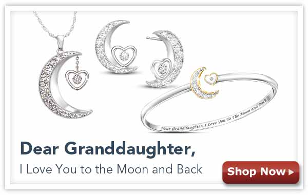 Dear Graddaughter, I Love You to the Moon and Back - Shop Now