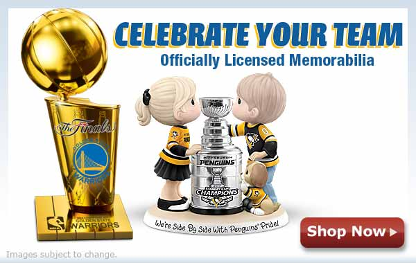 Celebrate Your Team - Officially Licensed Memorabilia  - Shop Now