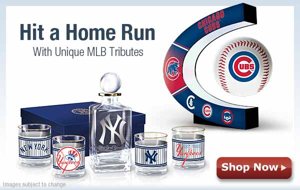 Hit a Home Run with Unique MLB Tributes - Shop Now