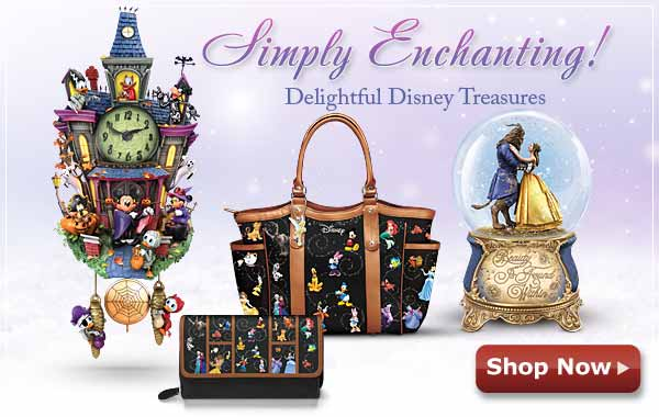 Simply Enchanting! Delightful Disney Treasures - Shop Now