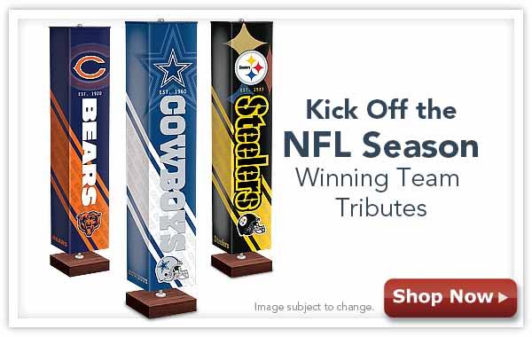 Kick Off the NFL Season - Winning Team Tributes - Shop Now