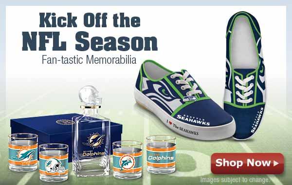 Kick Off the NFL Season - Fantastic Memorabilia - Shop Now