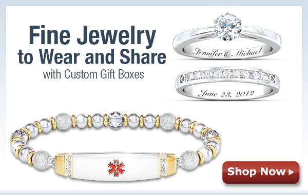 Fine Jewelry to Wear and Share with Custom Gift Boxes - Shop Now