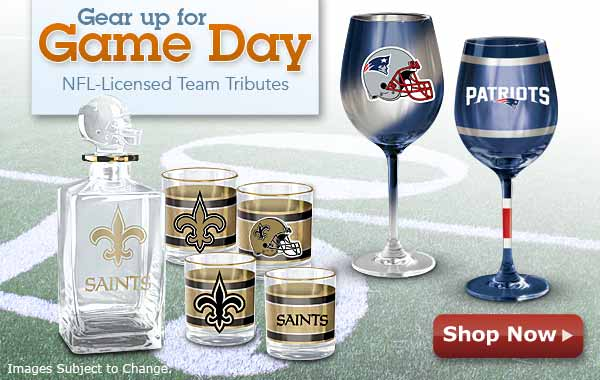 Gear Up for Game Day - NFL Licensed Team Tributes - Shop Now