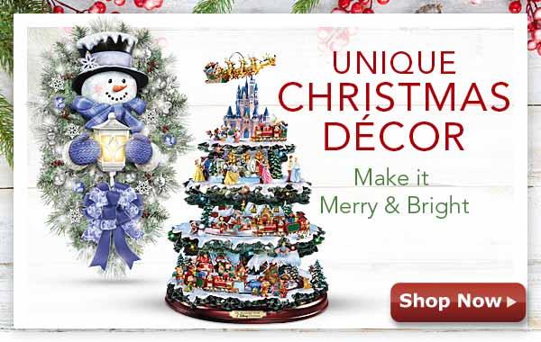 Unique Christmas Decor - Make It Merry & Bright - Shop Now