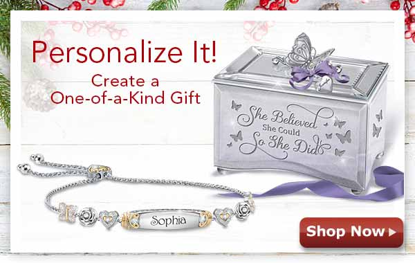 Personalize It! Create a One-of-a-Kind Gift Shop Now