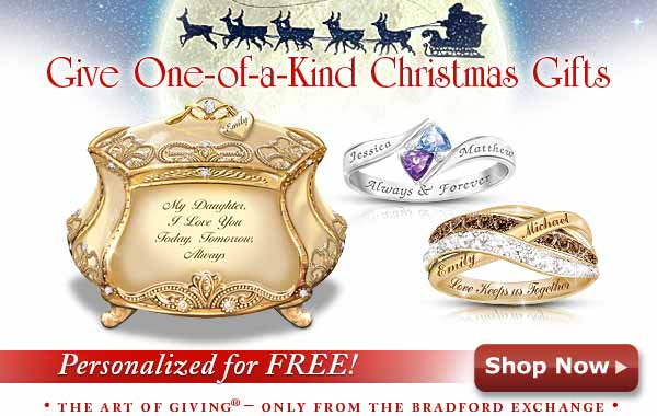 Give One-of-a-Kind Christmas Gifts - Personalized for FREE! - Shop Now