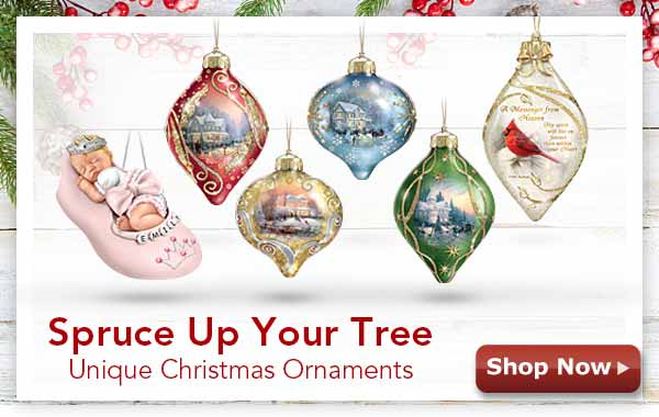 Spruce Up Your Tree - Unique Christmas Ornaments - Shop Now