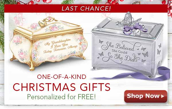 One-of-a-Kind Christmas Gifts - Personalized for FREE! Shop Now