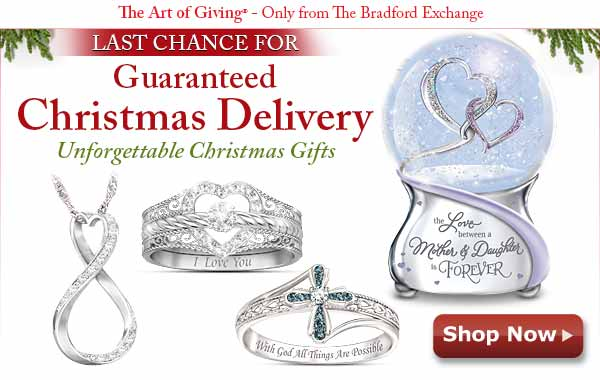 LAST CHANCE FOR Guaranteed Christmsa Delivery - Unforgettable Christmas Gifts Shop Now