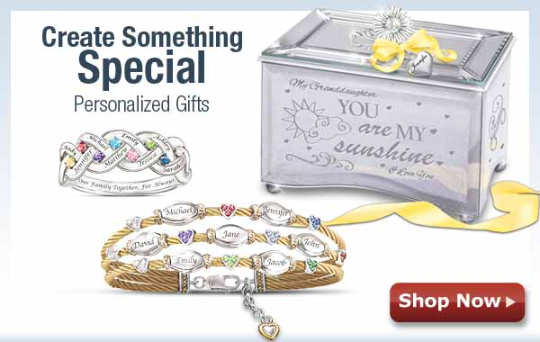 Create Something Special - Personalized Gifts - Shop Now