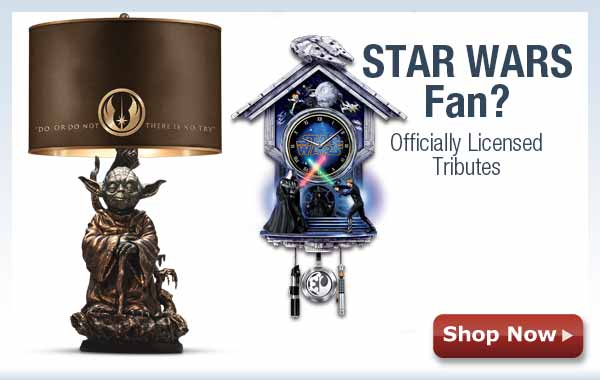 STAR WARS Fan? Officially Licensed Tributes - Shop Now