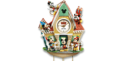 Disney Mickey Mouse Through The Years Wall Clock