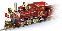 'Budweiser Holiday Express' Illuminated Electric Train