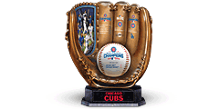 2016 World Series Champions Cubs Sculpted Glove