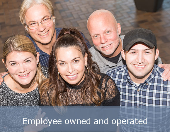 Employee owned and operated